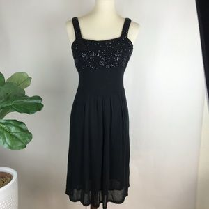 Iisli   Black Sequin cocktail dress
